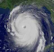 Ураган Katrina. TV-изображение